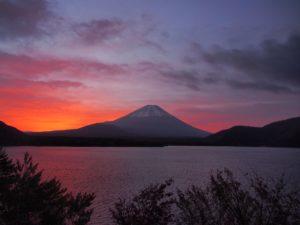 富士五湖からの景色